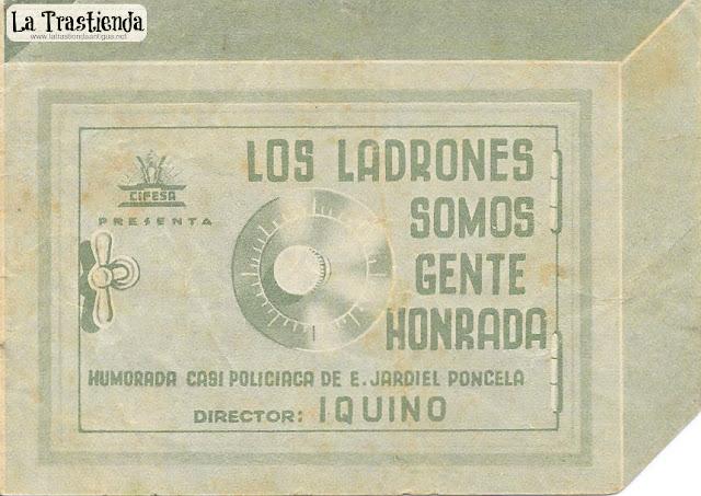 Los Ladrones Somos Gente Honrada - Programa de Cine - Amparo Rivelles - Manuel Luna