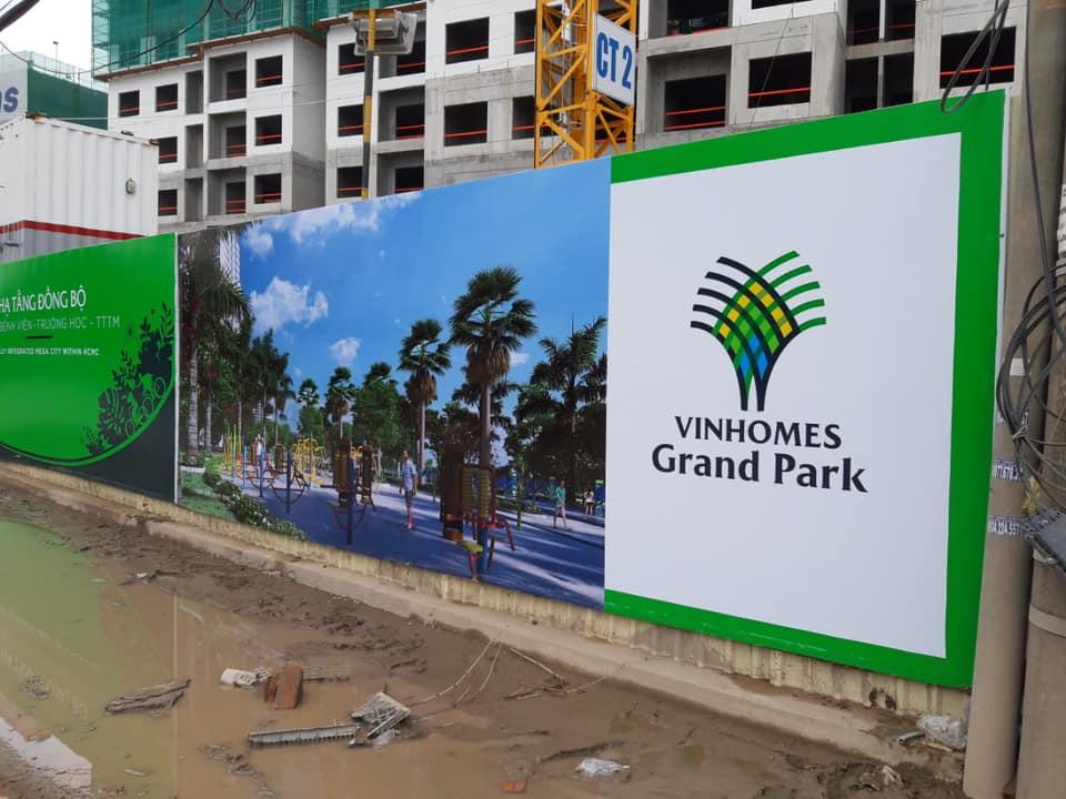 Tiến độ dự án VinCity Grand Park