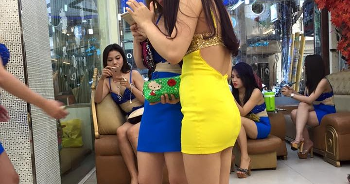 Vietnam girls working massage on wechat