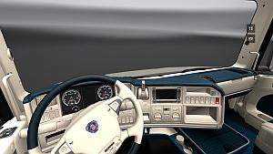 White Cold interior for Scania T