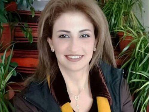 تجديد الشارة الدولية للحكمة السورية بالجمباز رانيا أبو فخر