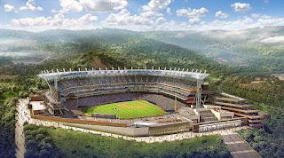 El estadio de béisbol mas grande de Venezuela y Suramerica, Parque Hugo Chávez de la Rinconada