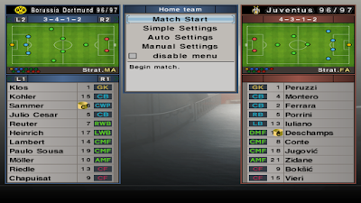 PES 6 Classic Patch Euro Football '90s by Chule & Duzizou