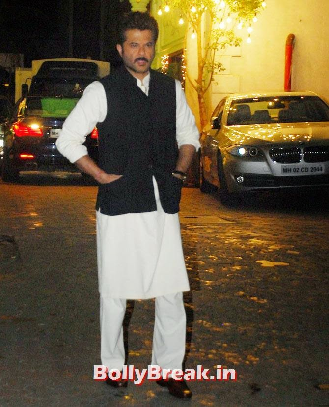 Anil Kapoor, Shilpa Shetty's Diwali Bash 2014 Photos