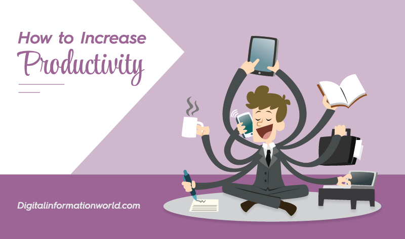 How to Increase Productivity - #infographic