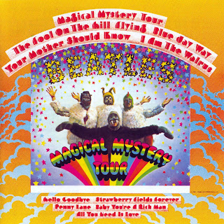"Beatles - capa do disco ""Magical Mystery Tour"", de 1967"