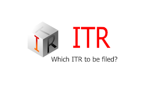 How to select proper ITR?