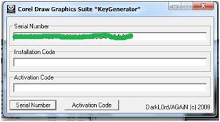 Keygen CorelDraw Graphic Suite X4