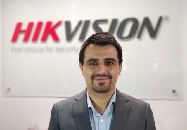Samuel Ramírez, Business Development Director de Hikvision Chile