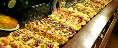 Pinchos in San Sebastian, tourism and travel