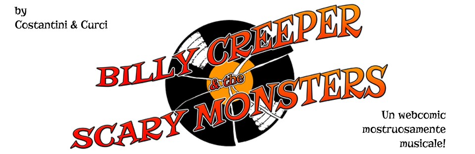 Billy Creeper & the Scary Monsters