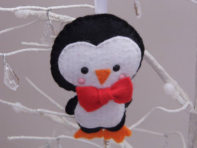 Sew Kidding felt penguin