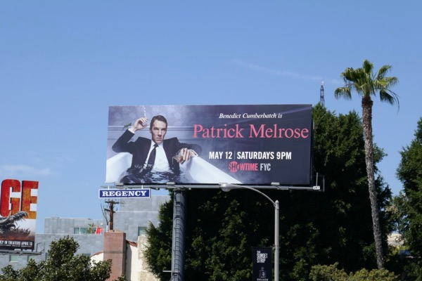 Patrick Melrose TV billboard
