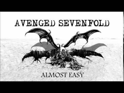 Avenged Sevenfold Almost Easy Guitar Chords Lyrics Kunci Gitar