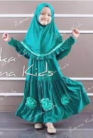 Model Baju Gamis Muslim Pesta Anak Perempuan Terbaru