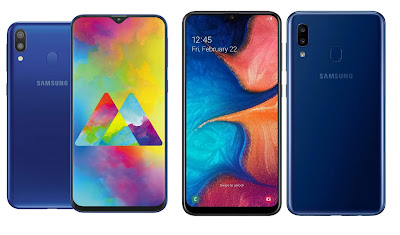 Samsung Galaxy M20 vs Samsung Galaxy A20