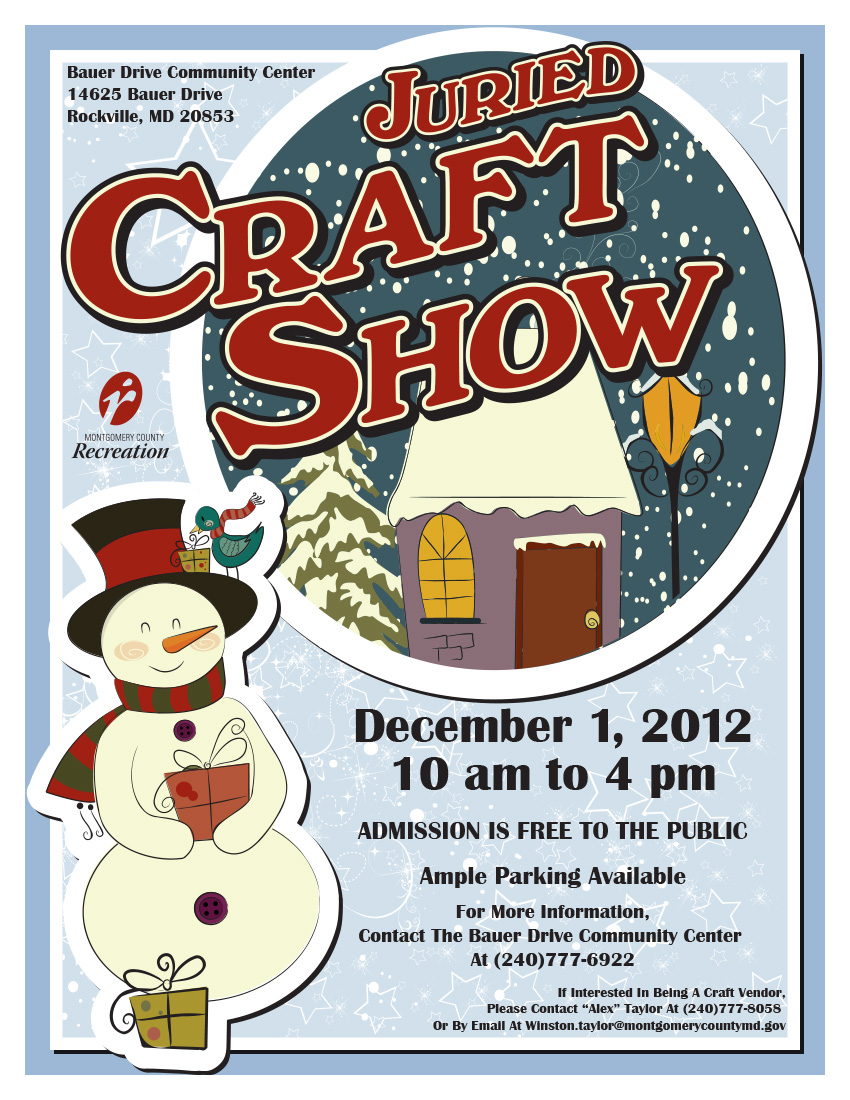 Bauer Drive Community Center Craft Show