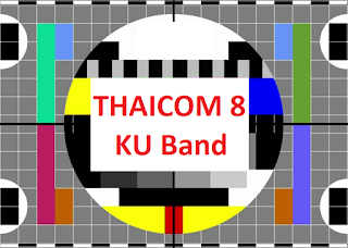 Biss Key Satellite Thaicom 8 KU Band