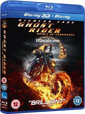 Ghost Rider Spirit of Vengeance (2011) Movie BluRay