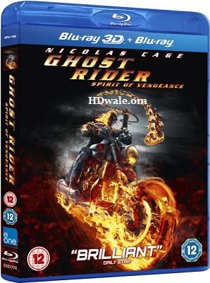 Ghost Rider Spirit of Vengeance (2011) Movie BluRay