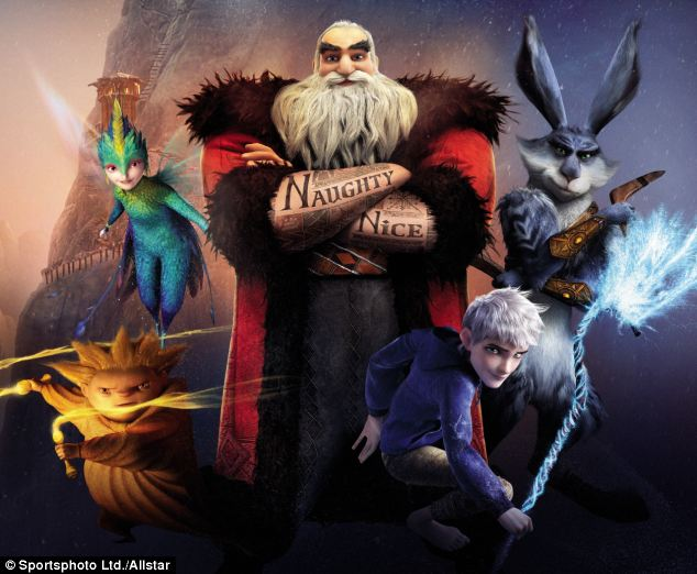 Foto dan Video  Rise of the Guardians