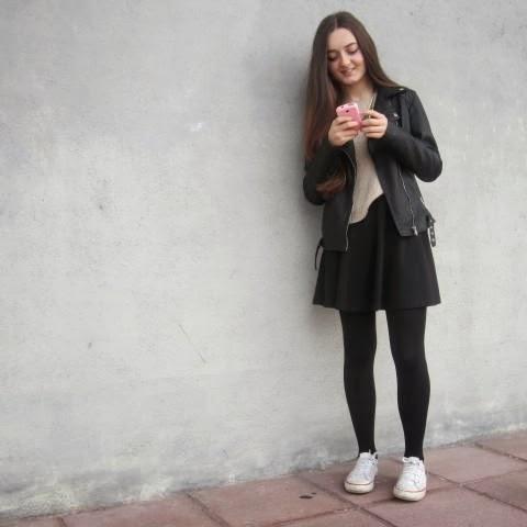 Decoración Sacrificio nacimiento  MrsEleanorRigby: How to combinate:A skater skirt