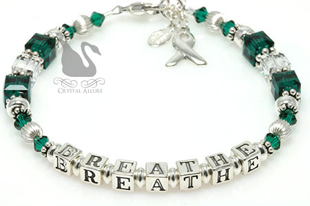 Breathe Organ Transplant Awareness Bracelet (BA195-D4)