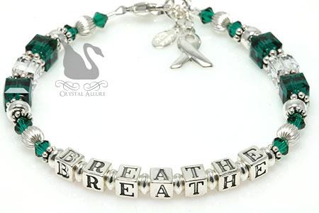 Breathe Organ Transplant Awareness Bracelet (BA195-D4)