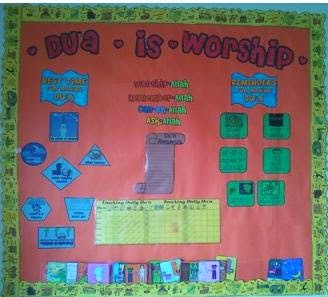 Duaa Bulletin Board