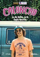 Concierto de Caloncho en el Café Berlín