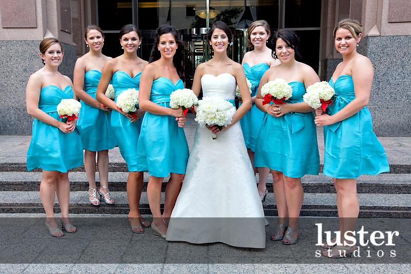 casamento azul e branco