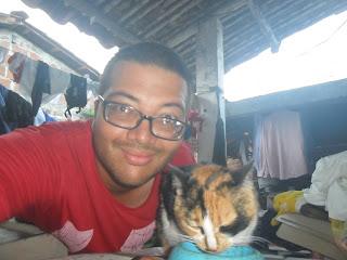 Con la gata