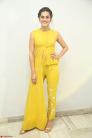 Taapsee Pannu looks mesmerizing in Yellow for her Telugu Movie Anando hma motion poster launch ~  Exclusive 120.JPG