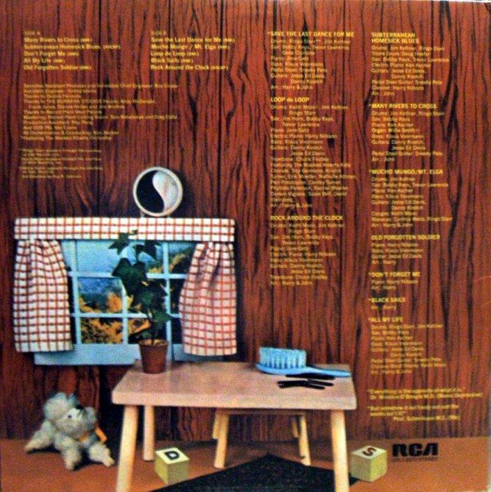 Vinyl Exam Pussy Cats Harry Nilsson