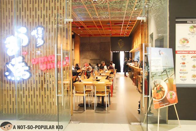 Uma Uma Restaurant in S'Maison, Conrad Manila