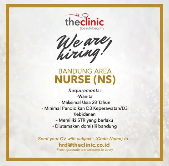 Lowongan Kerja Nurse di The Clinic