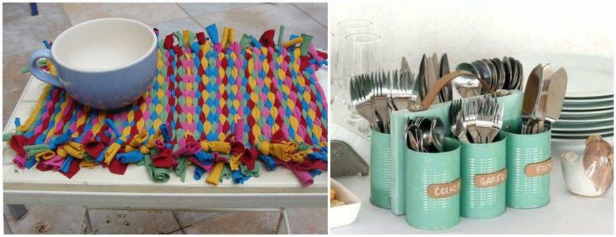 3 manualidades de reciclaje para nuestro hogar for Manualidades modernas para el hogar
