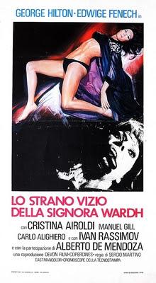 Poster do filme O Estranho Vício da Senhora Wardh