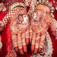 индийский стиль мехенди