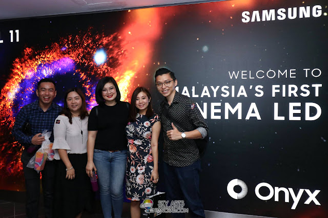 Samsung Onyx Cinema LED Hall Launch in GSC Mid Valley Megamall