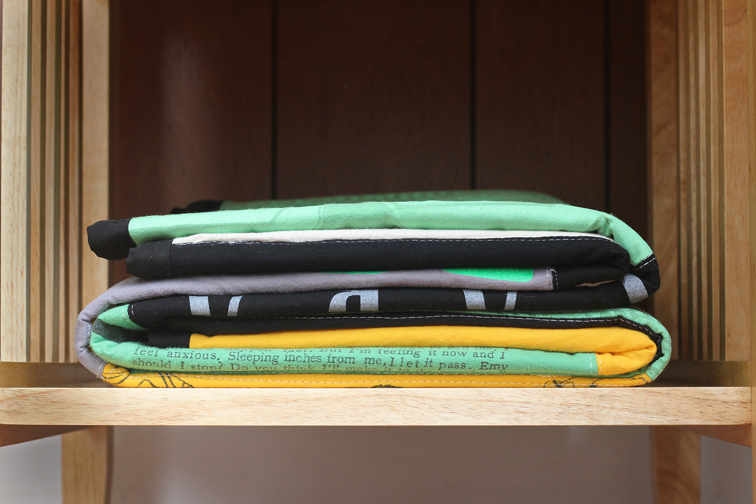 How to sew your first t-shirt quilt