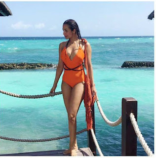 Malaika Arora Khan Bikini Photo Instagram Maldives