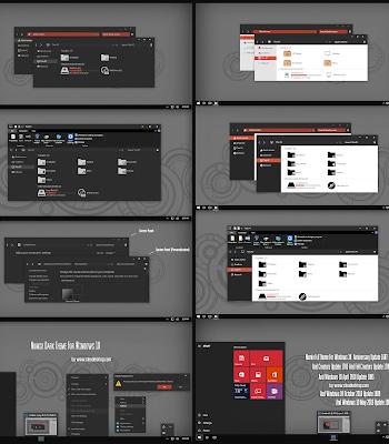 Numix Dark and Light ComboPack Theme Windows 10 1903