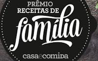 Prêmio Receitas de Família Casa e Comida 2016