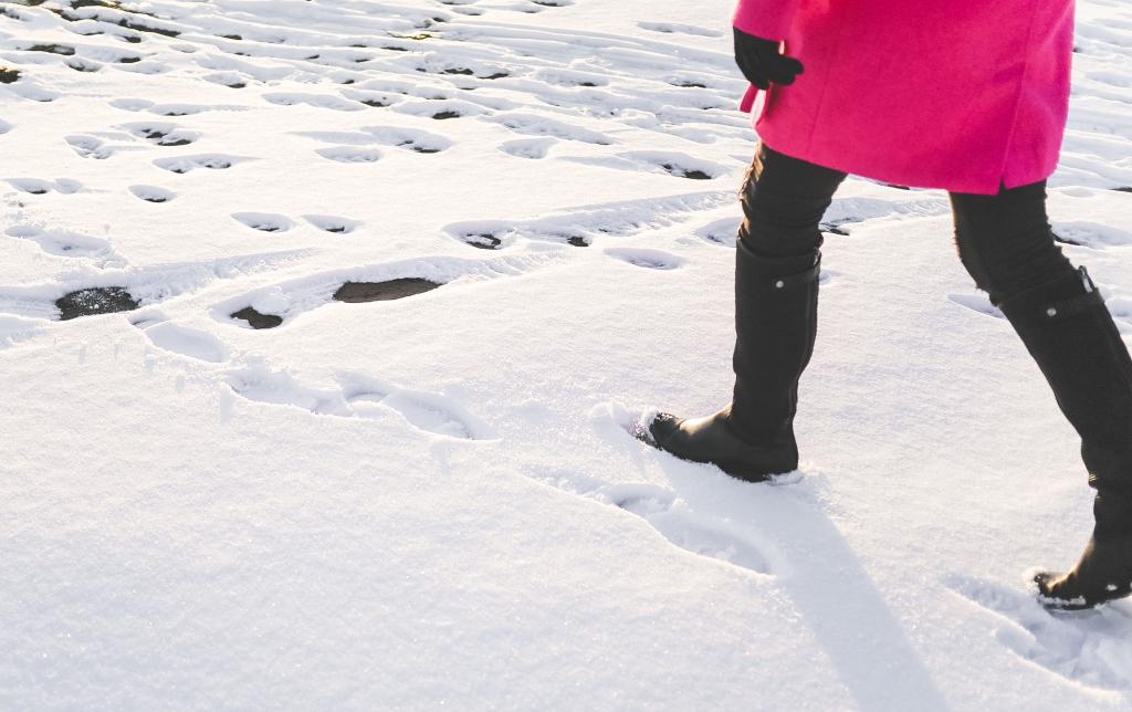 wyrażenia francuskie z zimą i śniegiem