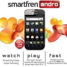 Smartfren Andro HS-E910, Ponsel Android Murah dengan Prosesor 1Ghz dan Layar IPS 4-Inchi
