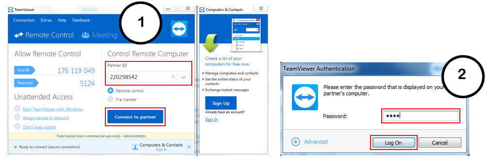 Cara Download, Install, Setting & Menggunakan Teamviewer 7/8