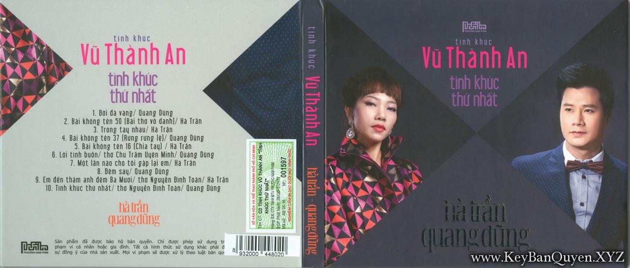Hà Trần & Quang Dũng-Tình Khúc Vũ Thành An-Tình Khúc Thứ Nhất (2016) [WAV]