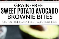 Grain-free Avocado Sweet Potato Brownie Bites