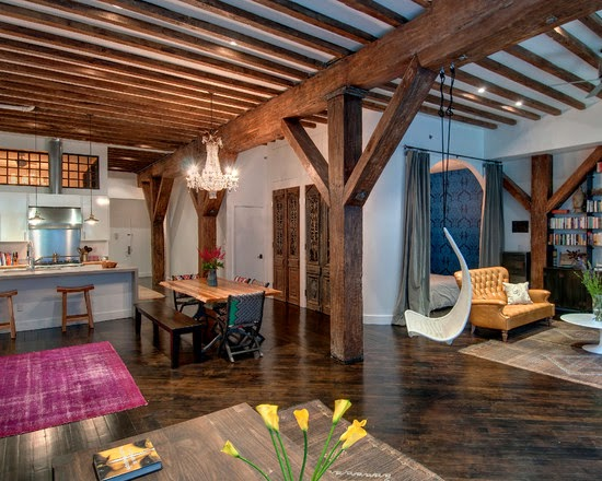 Hogares frescos hermosa renovaci n de loft con dise o for Feng shui colores casa interior